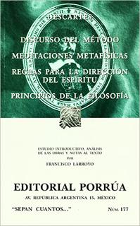DISCURSO DEL METODO - MEDITACIONES METAFISICAS -...