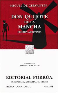 DON QUIJOTE DE LA MANCHA (EDICION ABREVIADA)