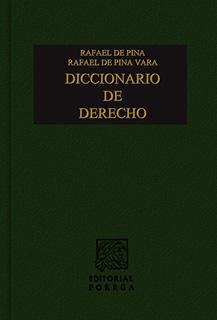 DICCIONARIO DE DERECHO (JURIDICO)