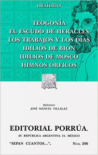 TEOGONIA - EL ESCUDO DE HERACLES - LOS TRABAJOS Y...