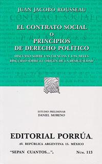 EL CONTRATO SOCIAL O PRINCIPIOS DE DERECHO...