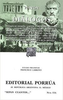 DIALOGOS (2 TOMOS INCLUYE APOLOGIA DE SOCRATES,...