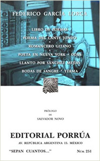 LIBRO DE POEMAS - POEMA DEL CANTANTE JONDO -...