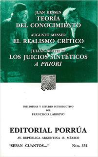 TEORIA DEL CONOCIMIENTO - EL REALISMO CRITICO -...