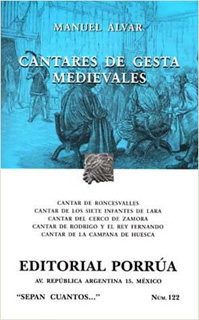 CANTARES DE GESTA MEDIEVALES