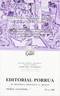 HISTORIA DE LOS INDIOS DE LA NUEVA ESPAÑA