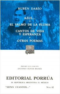 AZUL - EL SALMO DE LA PLUMA - CANTOS VIDA...