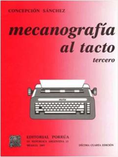 MECANOGRAFIA AL TACTO TERCERO