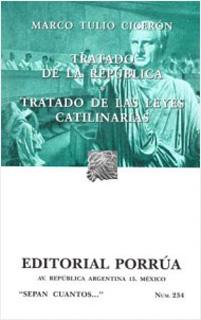 TRATADO DE LA REPUBLICA - TRATADO DE LAS LEYES...