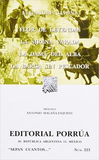 FLOR DE LEYENDAS - SIRENA VARADA - DAMA DEL ALBA...