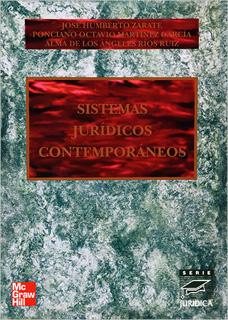 SISTEMAS JURIDICOS CONTEMPORANEOS