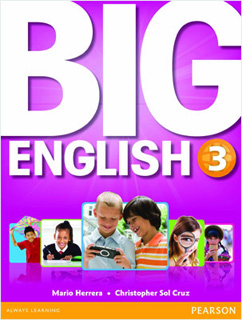 BIG ENGLISH 3 STUDENTS BOOK (INCLUDE CD)
