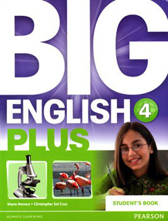 BIG ENGLISH PLUS 4 STUDENTS BOOK (INCLUDE CD)