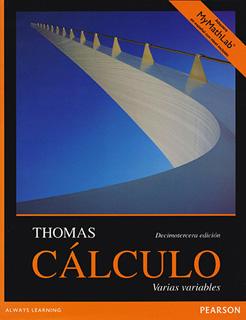 CALCULO VARIAS VARIABLES (CON ACCESO MYMATHLAB)