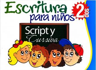 ESCRITURA SCRIPT Y CURSIVA PARA NIÑOS 2