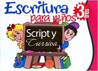 ESCRITURA SCRIPT Y CURSIVA PARA NIÑOS 3