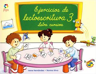 EJERCICIOS DE LECTOESCRITURA 3 LETRA CURSIVA