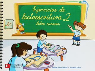 EJERCICIOS DE LECTOESCRITURA 2 LETRA CURSIVA