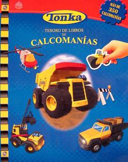 TESORO DE LIBROS DE CALCOMANIAS: TONKA