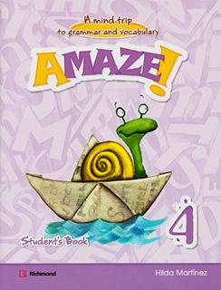 AMAZE! 4 STUDENTS BOOK