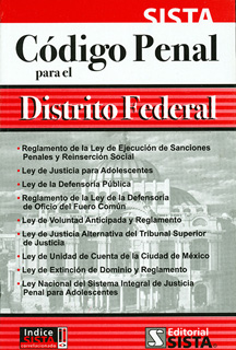 2017 CODIGO PENAL PARA EL DISTRITO FEDERAL