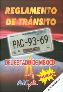 REGLAMENTO DE TRANSITO DEL ESTADO DE MEXICO 2018 (PLAQUITA)