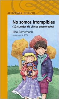 NO SOMOS IRROMPIBLES: 12 CUENTOS DE CHICOS ENAMORADOS (SERIE NARANJA)