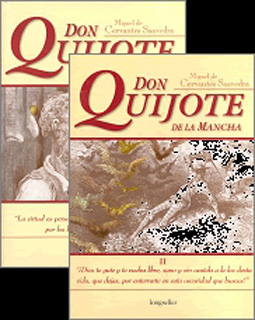 DON QUIJOTE DE LA MANCHA (2 TOMOS OBRA COMPLETA)