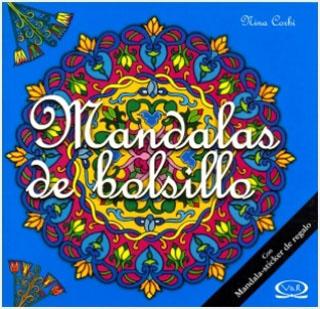 MANDALAS DE BOLSILLO Nº 6 TURQUESA (CON STICKERS)