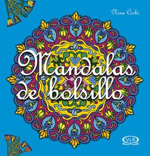 MANDALAS DE BOLSILLO 5 TURQUESA (PUNTILLADO)