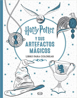HARRY POTTER Y SUS ARTEFACTOS MAGICOS PARA COLOREAR