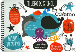 MI LIBRO DE STENCIL: EN EL OCEANO