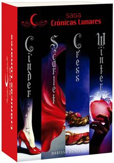 CRONICAS LUNARES PACK (CINDER - SCARLET - CRESS - WINTER)