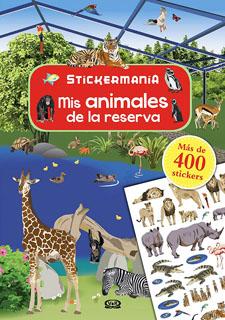 MIS ANIMALES DE LA RESERVA (STICKERMANIA)
