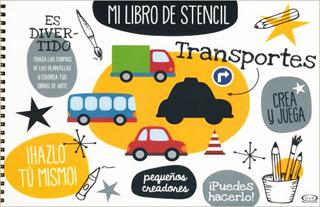 MI LIBRO DE STENCIL: TRANSPORTES