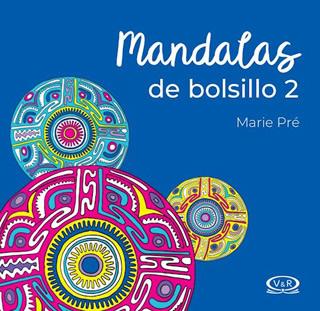 MANDALAS DE BOLSILLO Nº 2 N.V. PUNTILLADO (AZUL)