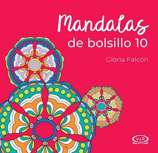 MANDALAS DE BOLSILLO Nº 10 (ROJO)