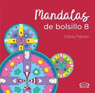 MANDALAS DE BOLSILLO 8 N.V. PUNTILLADO (ROJO)