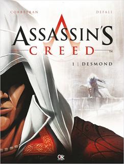 ASSASSINS CREED 1: DESMOND (NOVELA GRAFICA)