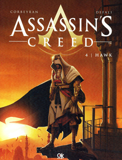 ASSASSINS CREED 4: HAWK (NOVELA GRAFICA)