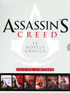 ASSASSINS CREED LA NOVELA GRAFICA PAQUETE...