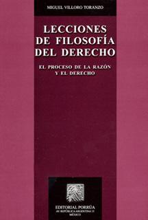 LECCIONES DE FILOSOFIA DEL DERECHO