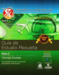 GUIA DE ESTUDIO RESUELTA. AREA 3: CIENCIAS...